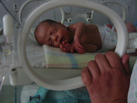 Babies born below 5 pounds, 8 ounces are defined as low-birth-weight. (Cesar Rincon/Flickr)