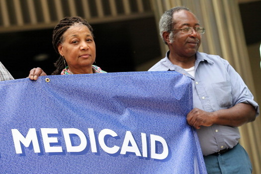 State and federal proposals to cut Medicaid have many low-income Arkansas families concerned about losing access to affordable health care. (GettyImages)