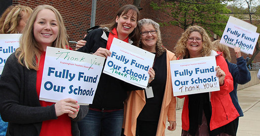 Expect Boston Common to be crowded on Saturday as students, educators and union members lead a rally calling for full funding of public education. (MassTeachers)