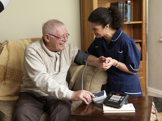 Connecticut's governor proposes cutting or eliminating programs that help seniors remain in their homes as they age. (Tunstall/Flickr)