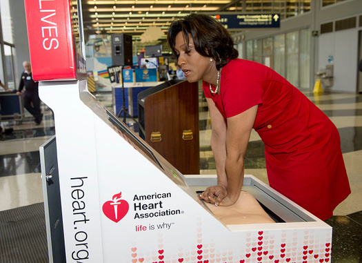 90 percent of people whose hearts suddenly stop die if they don't get CPR. (Brian Kersey/Getty Images)