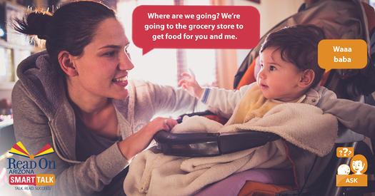 Una nueva iniciativa de alfabetizaci�n sugiere que los padres les narren su d�a a sus hijos para mejorar su vocabulario y su comprensi�n de las palabras. (Read On Arizona)