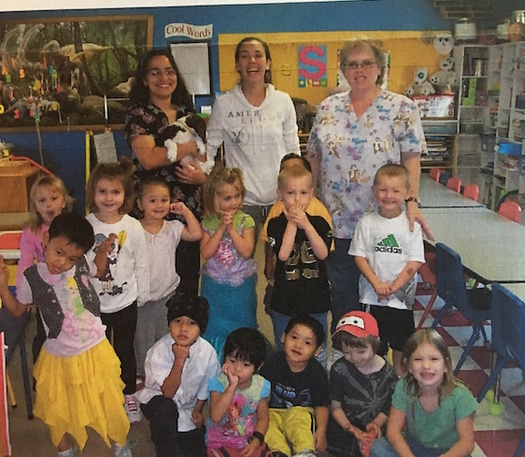 Children at M&M Day Care in Huron are among those benefiting from the use of early childhood education to integrate refugees from Myanmar into the community. (M&M Day Care)