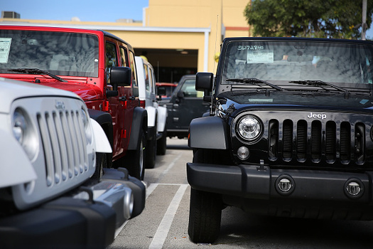 Potential car buyers should have a financing plan in place, one Northwest consumer advice writer says. (Joe Raedle/Getty Images)