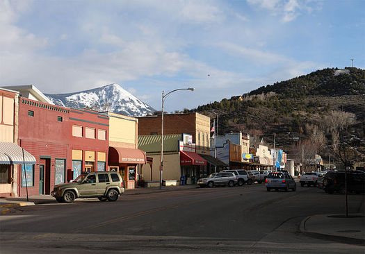 Many small towns in Colorado have not yet recovered from the recession and their residents depend on Medicaid for health care, according to a new report. (Cobun Keegan/Wikimedia Commons)