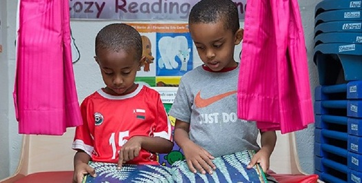 It's recommended that children get at least 15 minutes of reading in a day during the summer. (hhs.gov)
