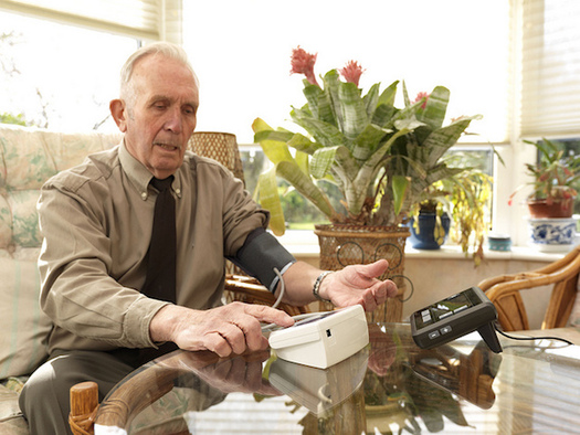 The majority of older Pennsylvanians want to live independently, at home, as they age. (Tunstall/Flickr)