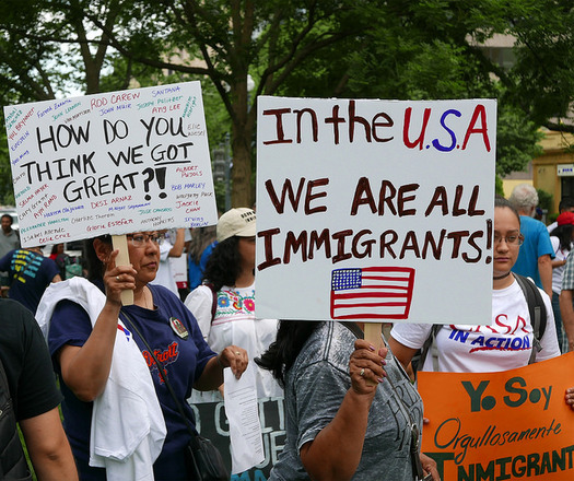 Immigrants' advocates are welcoming a change in course by the Trump administration on the Deferred Action for Childhood Arrivals program, but note it could change at any moment.  (S. Melkisethian/Flckr)