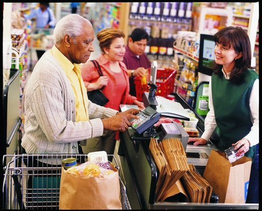 Proposed SNAP food assistance cuts are likely to hit low-income seniors and people with disabilities hardest. (USDA)
