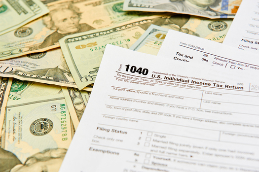 The average tax break for millionaires in Utah under a health care bill passed by the U.S. House is projected to be $38,000 a year. (Getty Images)