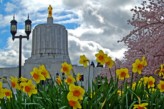 The Oregon Legislature has passed an education budget that now heads to Gov. Kate Brown's desk. (Edmund Garman/Flickr)