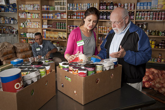 In aging states such as New Hampshire, advocates say more low-income seniors could end up at food pantries if Trump administration proposed cuts to SNAP are approved. (USDA)