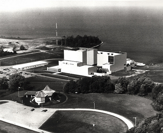 The R.E. Ginna Nuclear Power Plant on Lake Ontario was commissioned in 1970. (U.S. Department of Energy)