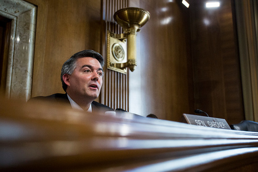 Sen. Cory Gardner, R-Colo., is one of 13 senators crafting a bill that would replace the Affordable Care Act. (Getty Images)