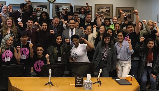 Oregon students led the passage of a bill creating ethnic studies in the state's K-12 schools. (APANO)