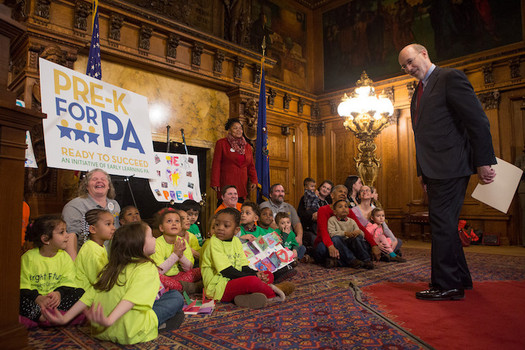 The budget agreement adds $25 million for pre-Kindergarten programs and $4.77 million for Head Start. (Gov. Tom Wolf)