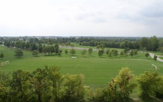 Cosmopolitan Park in Columbia, Mo., is the site of the city's eclipse celebration Mon., Aug. 21. (Columbia Parks and Recreation)
