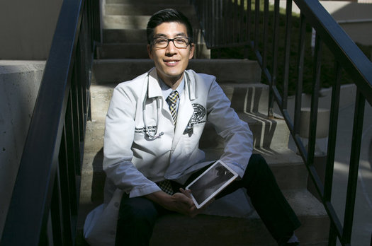 La expansi�n de Medicaid evit� que Dale Terasaki se endrogara con una deuda de m�s de $100,000 luego de una emergencia m�dica. (Barry Gutierrez).