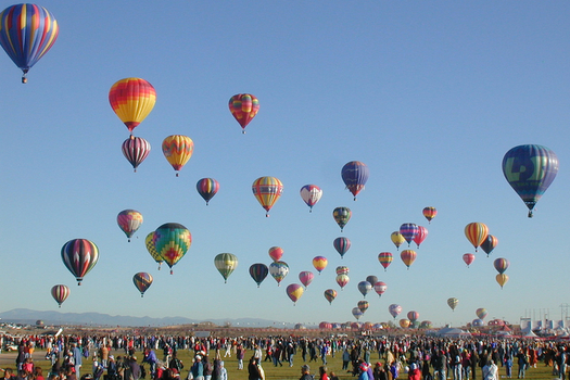 The Albuquerque International Balloon Fiesta is just one attribute that helped launch the city onto a new national list for wellness. (Creative Commons/Flickr)