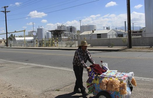 A new study says states like New Mexico stand to lose population and economic clout if air pollution goes unchecked and the planet continues to warm. (Ed Williams/Public Health New Mexico)