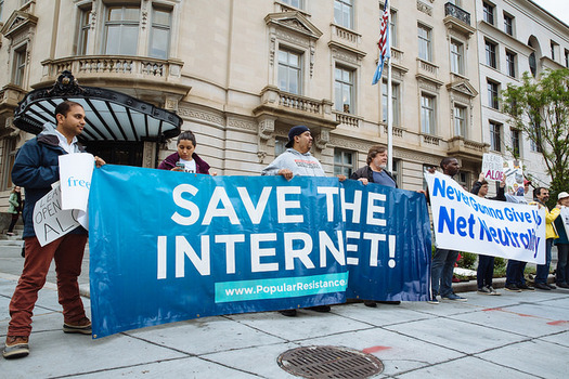 The FCC has proposed undoing regulations for internet service providers, a move some say could dismantle net-neutrality rules. (Maria Merkulova/Free Press)