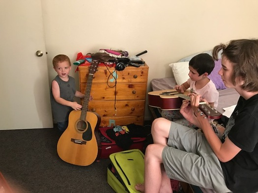 Children connect with music at a very early age, and research shows it can have a strong, positive effect on people of all ages. (V. Carter)
