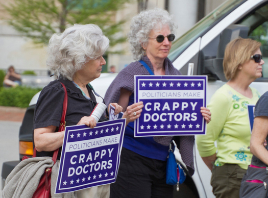 More than 80 percent of Coloradans age 50 and older oppose cuts to Medicaid, and insurance companies charging people who have pre-existing medical conditions. (Getty Images)