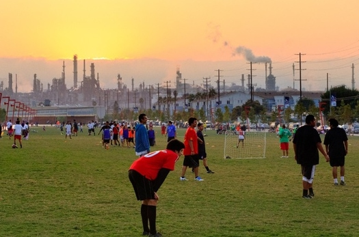 Low-income communities often bear the brunt of air pollution, so California environmental groups are pushing for more cleanup efforts in those areas. (World Architecture)