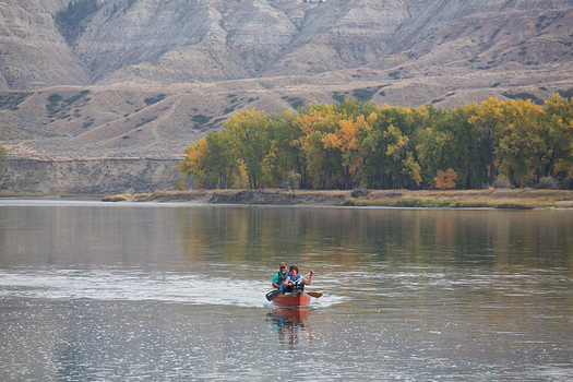Outdoor activities, such as canoeing on the Missouri River, generated $5.8 billion in consumer spending in Montana in 2012. (Bob Wick/Bureau of Land Management)