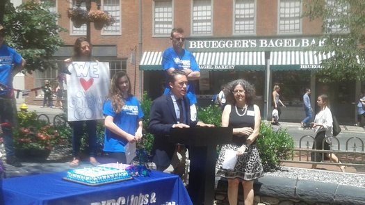 New England supporters of the Consumer Financial Protection Bureau held a 6th Birthday party in Boston, but they warn that lobbyists are hard at work in D.C. trying to kill the agency. (MASSPIRG)