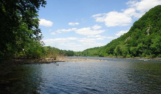 A moratorium has prevented drilling for natural gas in the Delaware River watershed since 2010.  (Tomwsulcer/Wikimedia Commons)