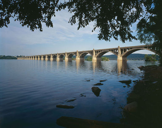The Susquehanna River is the source of drinking water for 6 million people. (Joseph E. B. Elliot/Wikimedia Commons)