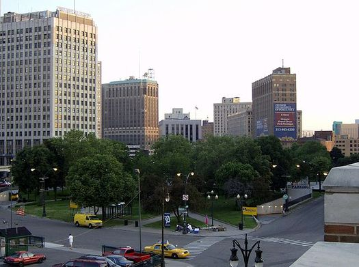 While the city's downtown is again thriving, the summer of 1967 forever marked Detroit. (mikerussell/wikimedia commons)