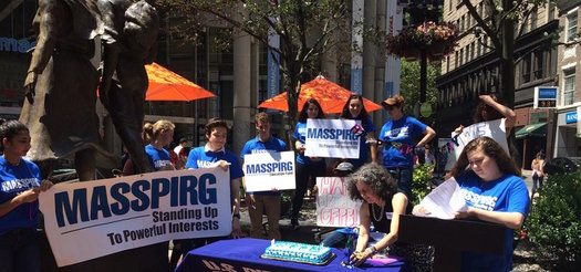 Supporters of the Consumer Financial Protection Bureau held a 6th Birthday party in Boston, but they warn lobbyists are hard at work in D.C. trying to kill the agency. (MASSPIRG)