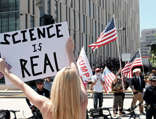 Scientists are protesting the nomination of Sam Clovis to the U.S. Department of Agriculture. (Getty Images)