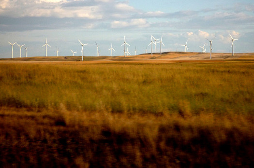 The Bonneville Power Administration reduced a transmission rate charge for Montana wind farms but did not eliminate it. (Ethan Kan/Flickr)