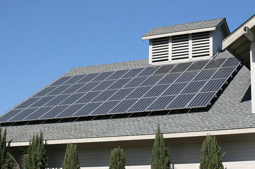 Solar energy powers 45,000 homes in Idaho, according to the Solar Energy Industries Association. (Chris Kantos/Flickr)