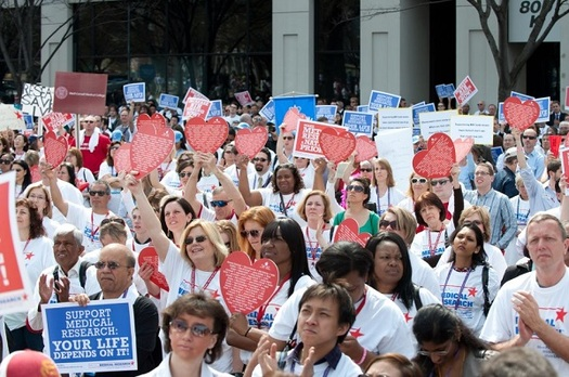 A Rally for Research will be held Saturday on the steps of the Minnesota State Capitol. (American Heart Association)