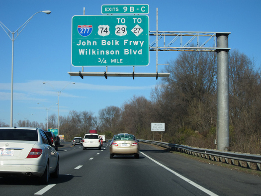 With 17 Interstate highways in North Carolina, Clean Air Carolina is the plaintiff in a lawsuit filed Monday, suiting the Federal Highway Administration for its suspension of the clean-air standard. (Mark Clifton/flickr)