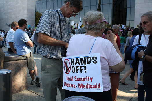 The Trump administration and the U.S. House have proposed massive cuts to Medicaid. (Elvert Barnes/Flickr)