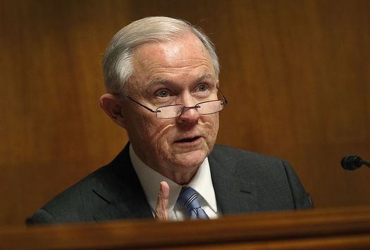 Under U.S. Attorney General Jeff Sessions, the Justice Department argues the Civil Rights Act doesn�t cover sexual orientation. (U.S. Customs and Border Protection)
