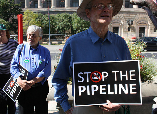 Nebraska's Public Service Commission has until until Nov. 23 to decide if the Keystone XL pipeline is in the public interest. (Elvert Barnes/Flickr)