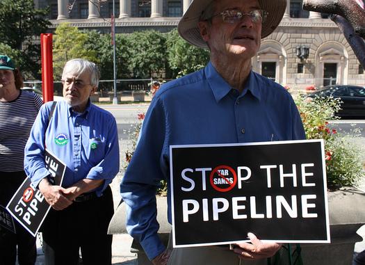 Nebraska's Public Service Commission has until until Nov. 23 to decide if the Keystone XL pipeline is in the public interest. (Elvert Barnes/Flickr)
