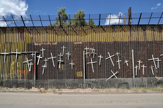 Hundreds of bodies are found in the desert near the U.S.-Mexico border every year. (Jonathan McIntosh/Flickr)