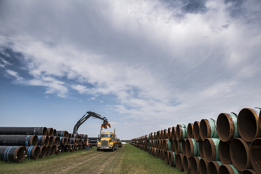 Construction of Enbridge Energy's proposed Line 3 replacement pipeline has already won approval in North Dakota, Wisconsin and Alberta, Canada. (Premier of Alberta/Flickr)