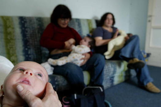 Breastfeeding has been shown to improve the health of newborns and can lead to higher IQs. (Getty Images)