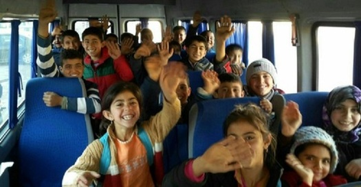 There are one million Syrian children living elsewhere in the world as refugees. (karamfoundation.org)