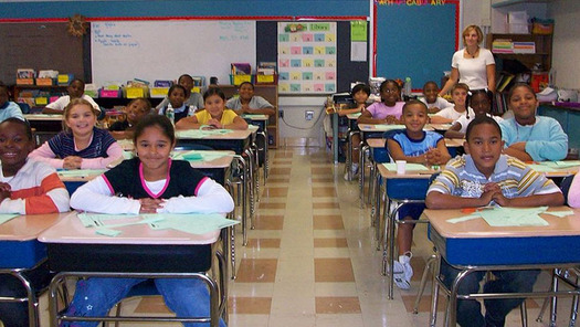 The plan signed by Gov. Tom Wolf could eliminate up to two full days of testing at some schools. (Michelle Collins/Wikimedia Commons)