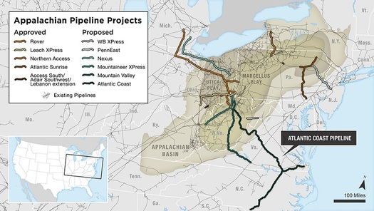 From Pipelines To Renewable Energy And Efficiency Sierra Club - Map Of Current Pipelines In The Us