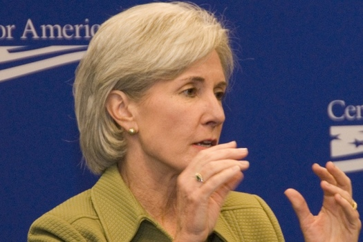Former U.S. Health and Human Services Secretary Kathleen Sebelius contends elected leaders need to know that the Affordable Care Act is making a difference in people's lives. (Center for American Progress/Flickr)